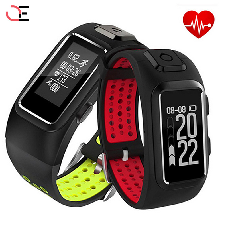 2018 GPS IP68Sports Heart Rate Monitor Intelligent Real Time Support Band Activity Activity Fitness Sleep tracker to iOS Android спот citilux герда cl523521