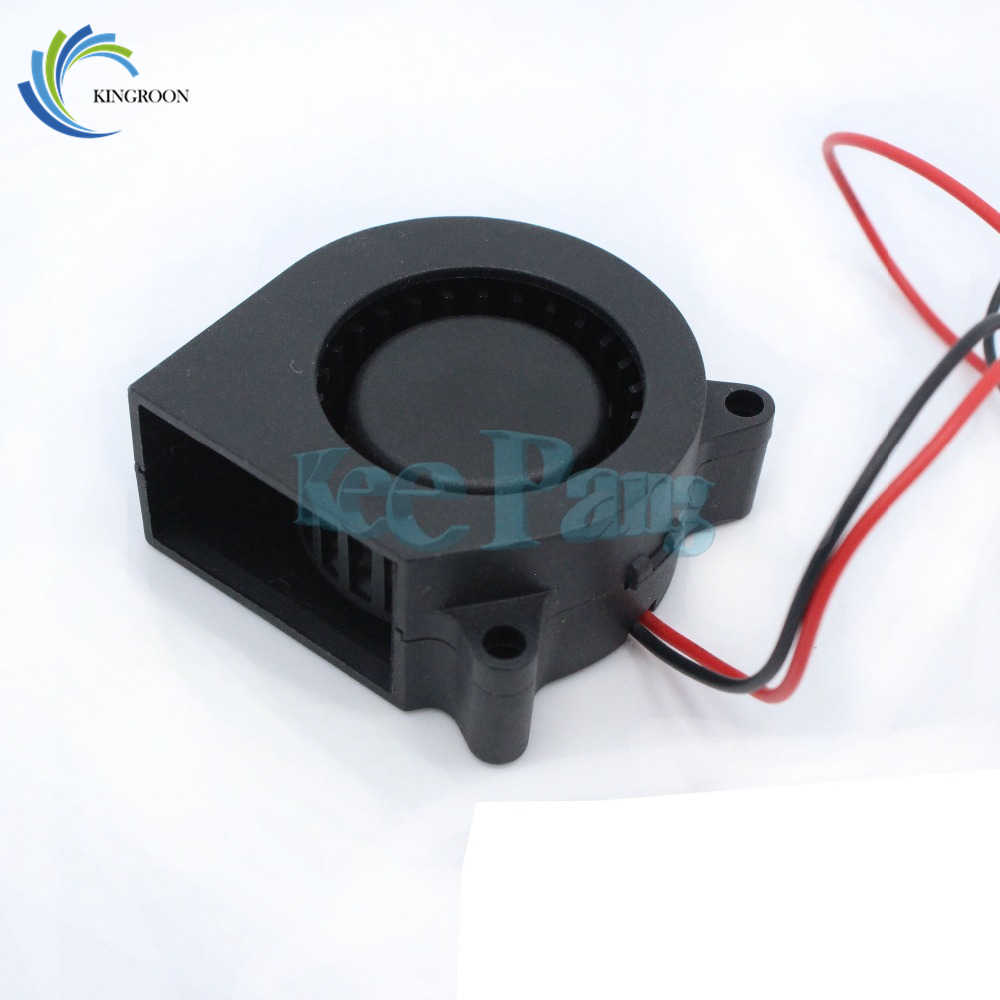Free Shipping 3D printer accessories 12V 4020 turbo fan blower cooling fan