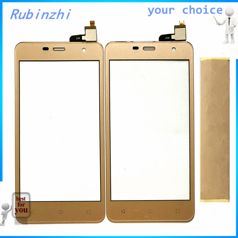 RUBINZHI Touch Screen Digitizer For <font><b>Prestigio</b></font> Muze G3 LTE G 3 Lte <font><b>PSP3511</b></font> DUO Touchscreen Front Glass Sensor Panel With Tape image