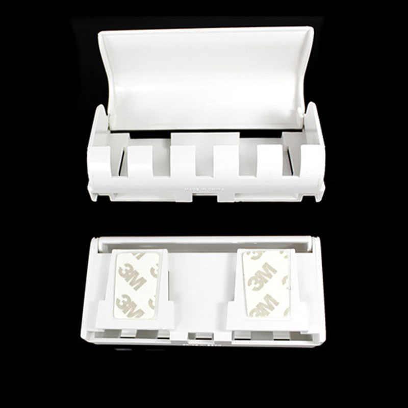 Automatyczny dozownik pasty do zębów 5 szczoteczka do zębów uchwyt do montażu na ścianie szczotka do zębów stojak rodzina łazienka zestaw chłopiec-sprzedaż