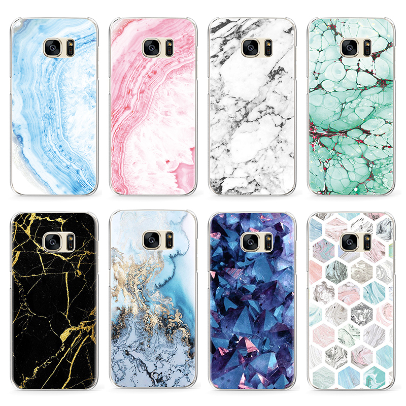 Marble Fashion Pattern Case For Samsung Galaxy J3 J5 J7 A3