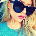 Newest Round Cat Eye Sunglasses Women Luxury Brand Designer Cateye Sun Glasses Stylish Girl Eyewear UV400 Oculos De Sol 2017