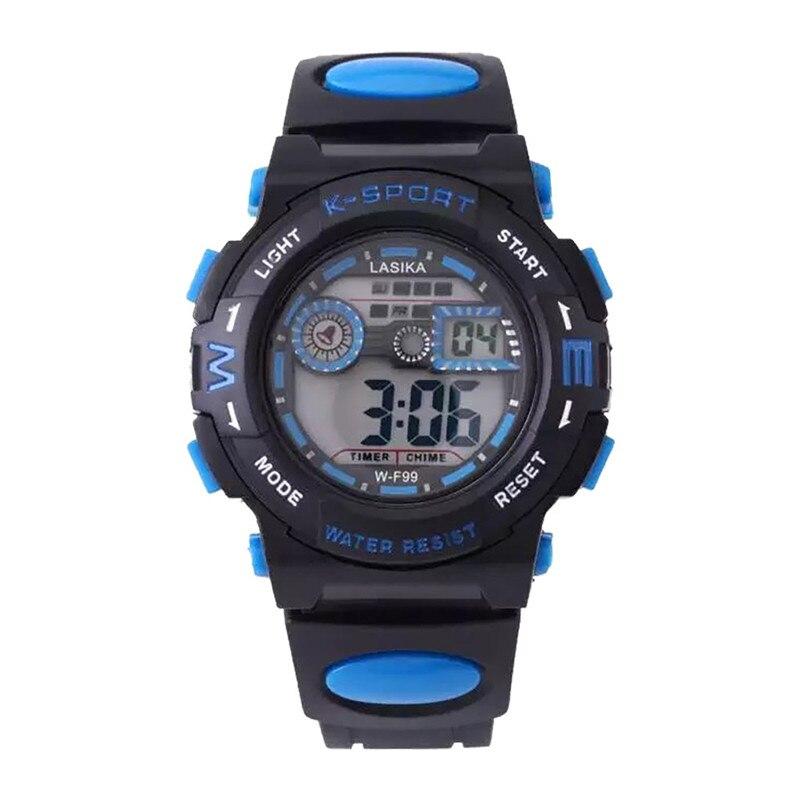 Boys Girls Student Watches Fashion Alarm Electronic Kid Clock Students Sports Watch LED Digital Wrist Watch Child Gifts /DD
