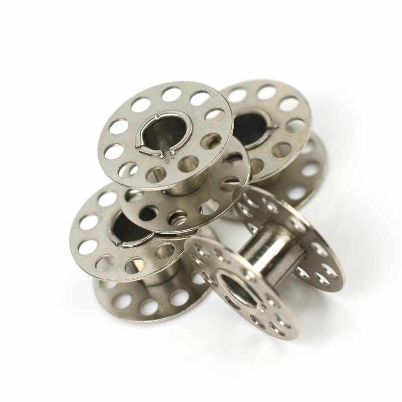 Катушки для швейных машин пустые катушки высокого качества металлические для шитья машина вышивка рукоделие аксессуары инструменты