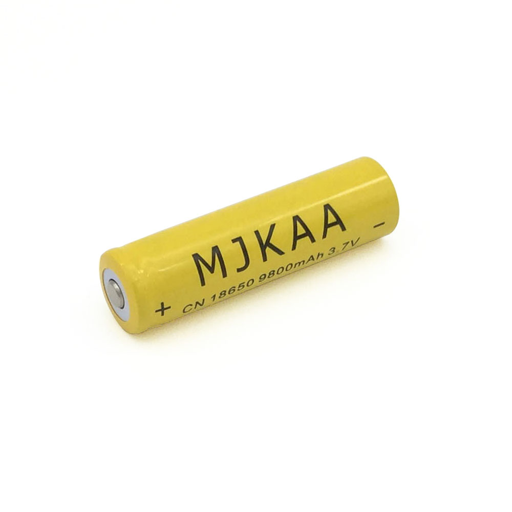 12pcs 18650 Battery 3 7V 9800mAh Rechargeable li ion for Led flashlight batery litio battery Cell in Rechargeable Batteries from Consumer Electronics