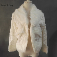 Bruid Cape Lange Mouwen Faux Fur Bruiloft Wrap Ivoor Jas Winter Bridal Shawl Shrug