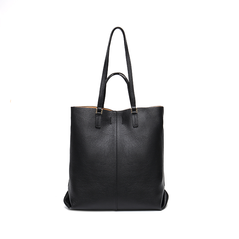 Women Genuine Leather Tote Bag Shoulder Handbag Shopping Purse Shopper Totes Lady Fashion Simple Bags Vintage Daily Casual UseWomen Genuine Leather Tote Bag Shoulder Handbag Shopping Purse Shopper Totes Lady Fashion Simple Bags Vintage Daily Casual Use