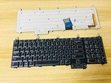 New keyboard for Dell Alienware M17X R1 R2 R3 R4 R5 R6 M18X R1 R2 R3 QWERTY US/GREEK/Deutsch German/JAPANESE BLUE RIBBON