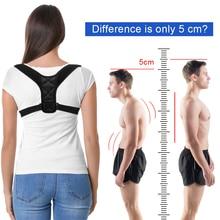 DropShipping Adjustable Back Posture Corrector Clavicle Spine Shoulder Lumbar Brace Support Belt Correction