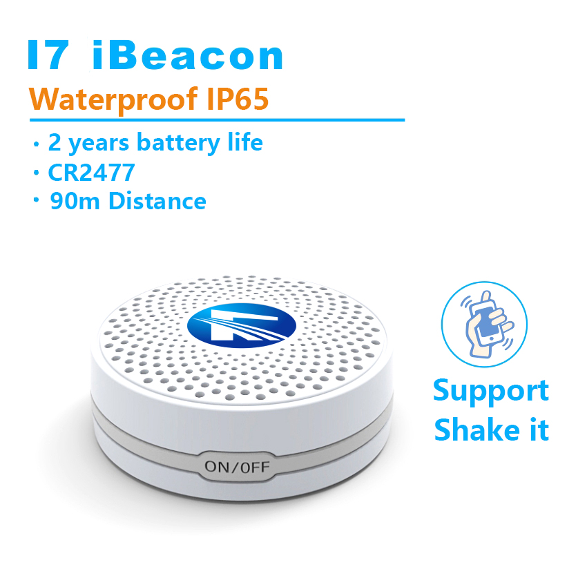 90m Ibeacon Blueteeth 4.0 Base Station Shake it Broadcast Indoor Location Smart Home Phone Beacon LBS IOS Android