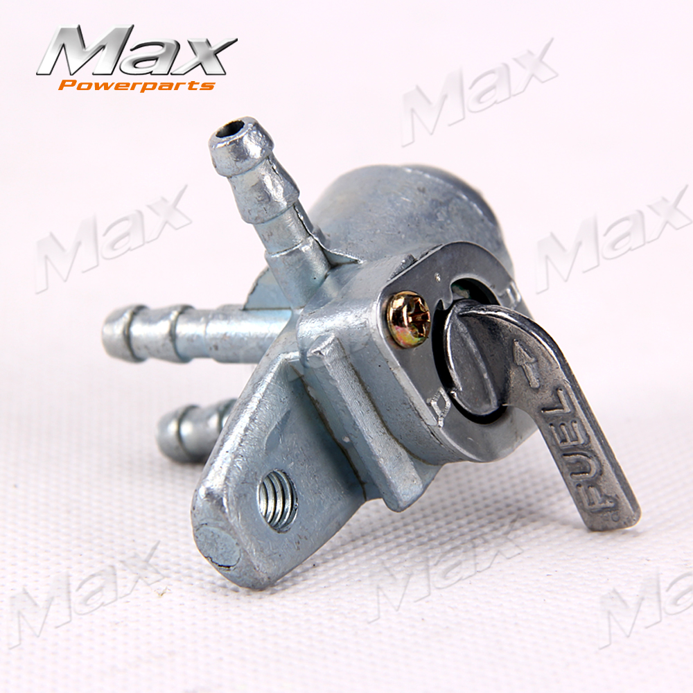 Gas petrol Fuel Tank Tap switch Cock Petcock For 50cc 70cc 90cc 110cc 125cc 140cc 150cc 160cc Pit Dirt Bikes motorcycle apollo bse dual exhaust pipe bullet off road motorcycle muffler dirt pit bike 50cc 70cc 90cc 110cc 125cc accessories