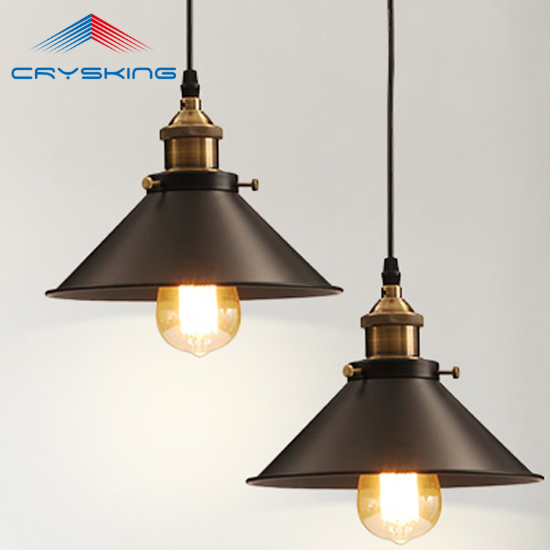 Wholesale Vintage Industrial Lighting Copper Lamp Holder Pendant Light American Aisle Lights Lamp Edison Bulb 110V-220V