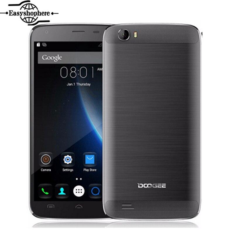 "bilder für Original 5,5 ""doogee t6 pro mobile handy android 6.0 octa-core 3 gb 32 gb 6250 mah 4g smartphone mt6753 13mp schnellladung"