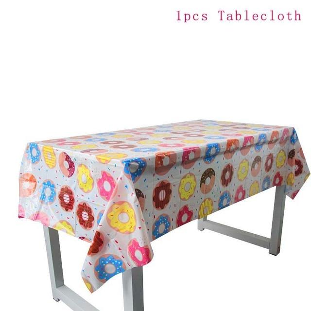 1pcs Tablecloth Monkey 1st birthday decorations 5c64f9ae5e23e