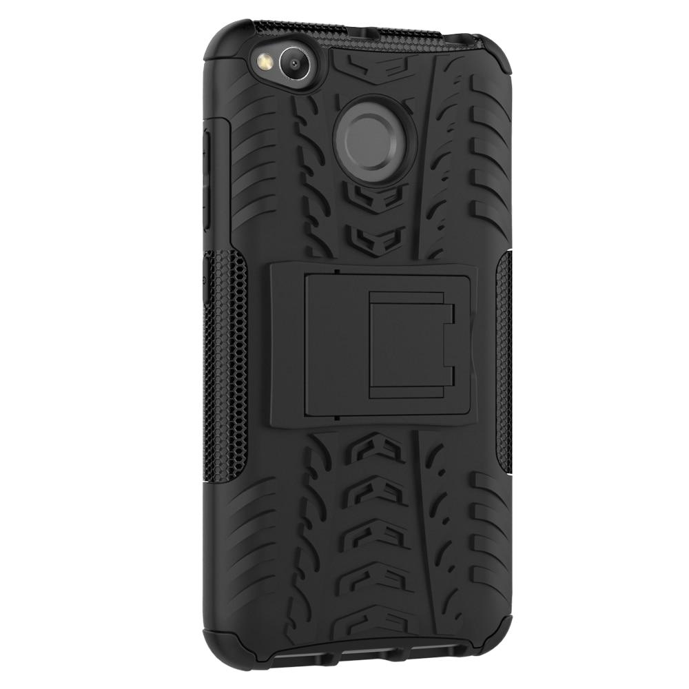 Hybrid TPU Armor Silicone Rubber Hard Case For Xiaomi Redmi 4X Hard - Ανταλλακτικά και αξεσουάρ κινητών τηλεφώνων - Φωτογραφία 2