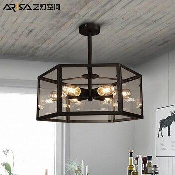 Moderne LED kronleuchter wohnzimmer ausgesetzt lampen ...