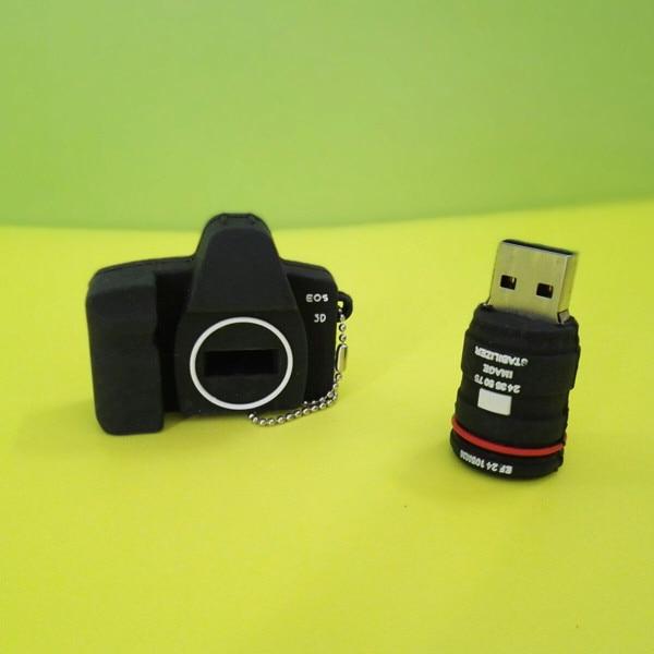 Usb Stick New arrive USB flash drive Mini camera USB 2.0 Flash Drive memory stick USB creativo 4GB 8GB 16GB 32GB 64GB N14
