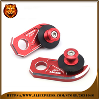 Motorcycle Aluminum Swingarm Spools Slider Stand Screw For HONDA CBR 650F CBR650F New Style 2014 2018 2017 2016 2015 Red Logo