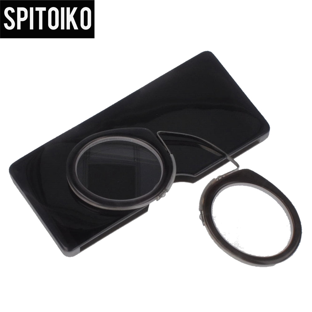 SPITOIKO  Mini Reading Glasses Portable Colorful Presbyopia +100~+400 - Apparel Accessories - Photo 4