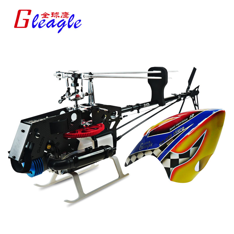 Global Eagle 480N18-DFC450L PNF Fuel Oil Nitro RC helicopter aircraft PNF RC Nitro helicopter Unassembled Frame kit global eagle 2 4g 480e dfc 9ch rc helicopter remote 3d drones rtf set 9ch rc 1700kv motor 60a esc carbon fiber body