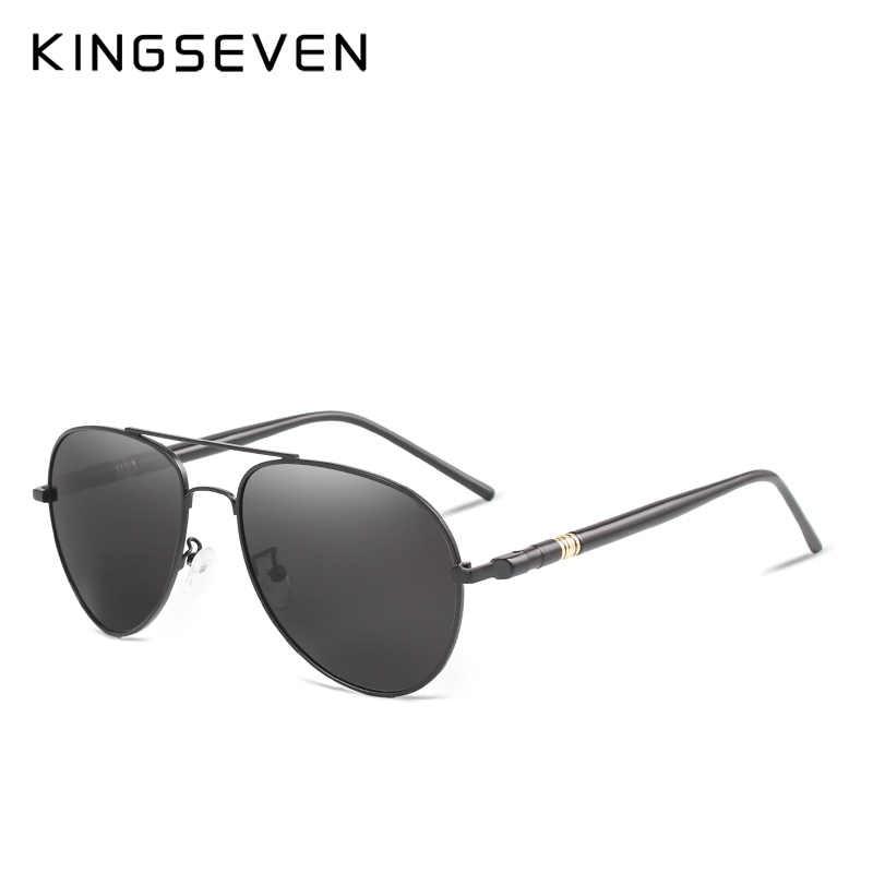 KINGSEVEN новый HD Polaroid Солнцезащитные очки для женщин для мужчин  поляризационные 2018 вождения Защита от солнца 407a7316216d0