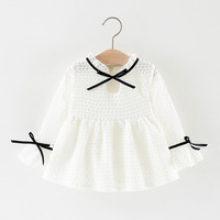 2018 Promotion Solid Cotton Cute Full Spring Korean Version Of The Girl Net Princess Children S