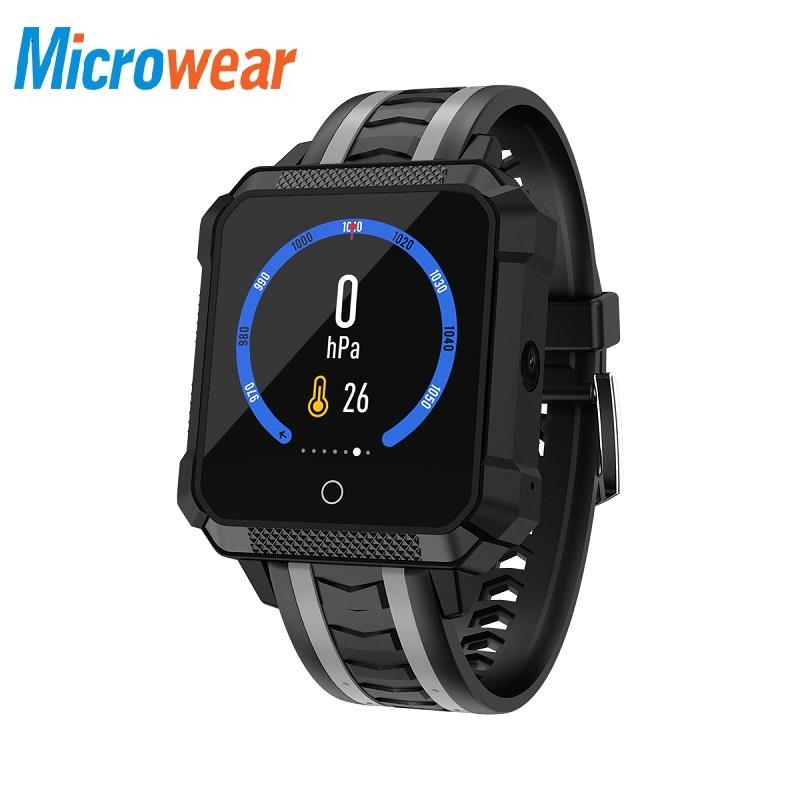H7 Montre Smart Watch Hommes Étanche GPS Smartwatch Android Montre Smart Watch 4g Smartwatch Étanche Message Appel Rappel Ip68 Sport Montre