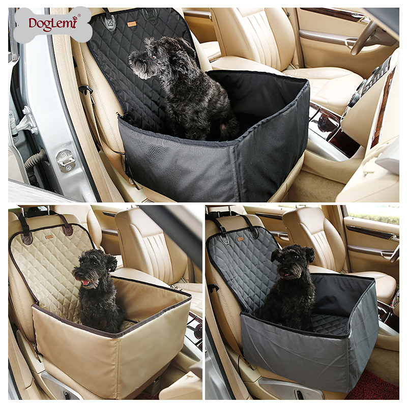 DogLemi 2 in 1 Delux Pet Seat Cover Waterproof Dog Car Front Seat Crate Cover ...