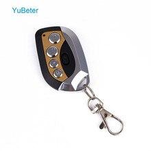 YuBeter الاستنساخ باب باب المرآب فتاحة 433 MHZ/315 MHZ/330 MHZ 4 أزرار التحكم عن بعد الكهربائية الناسخ مفاتيح مكافحة سرقة السيارة