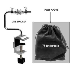Image 5 - Fishing Line Spooler With Clamp Fishing Reel Line Spool Spooler System Tackle Fishing Line Winder Sea Carp Fishing Tools