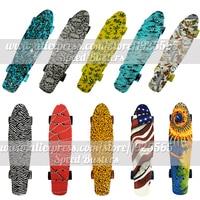 Peny Skate Board Deck Mini Longboard Combo Sale 22 Mini Skate Trucks Professional Fish Scooters For