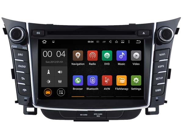 Android 7 1 Car Dvd Navi Player FOR HYUNDAI i30 2011 2013 audio multimedia auto stereo