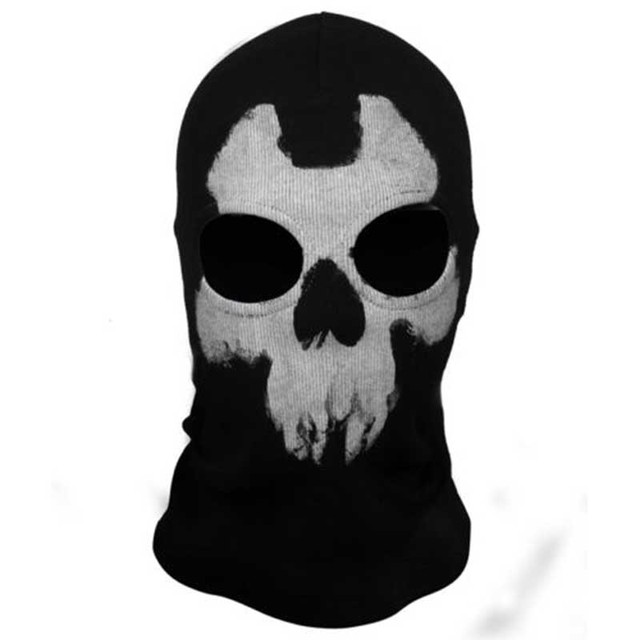 Ghost Balaclava Skull Mask High Quality Cycling Full Face Airsoft Game Cosplay Mask 4 Styles for Motorcycle Outdoor Sports 5