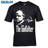 GILDAN Funny T Shirt Famous Movie The Godfather Cotton Short Sleeve T Shirt Marlon Brando T