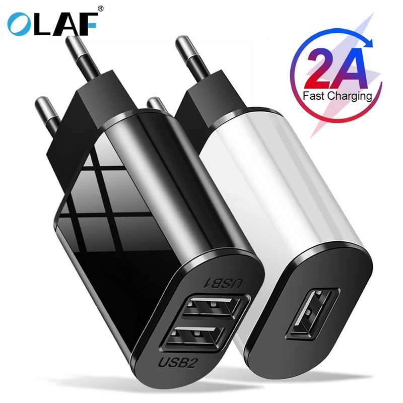 Olaf USB Charger Fast Charge for iPhone X 8 7 iPad Fast Wall Charger for Samsung S9 S8 Xiaomi mi 8 6 Huawei Mobile Phone Charger