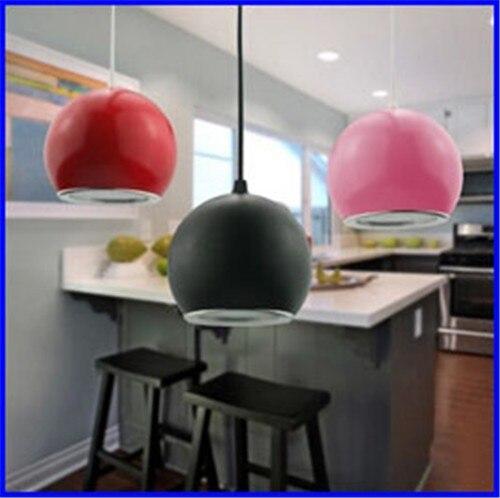 ФОТО Crystal lamp for dining room modern fashion bubble crystal elegant bar LED crystal pendant lamp AC85-265V 5W LED pendant light