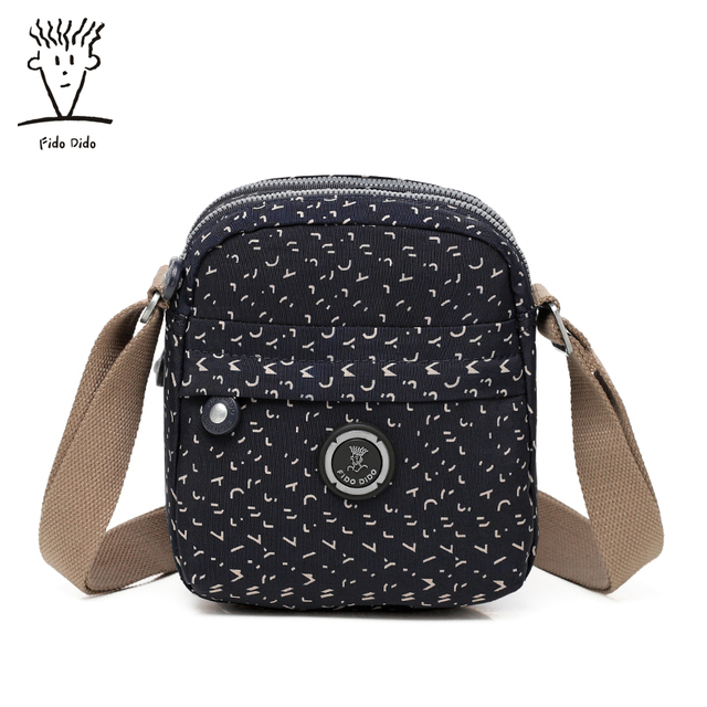 43576d7551 Fido Dido Waterproof Nylon Women Messenger Bags Small Purse Shoulder Bag  Female Crossbody Bags Handbags High Quality Tote!!