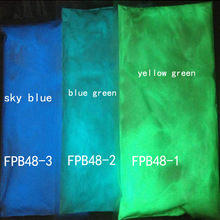 Glow in dark Powder 50g Bright Blue/Green Phosphor Powder Glow in the