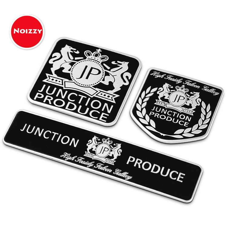 Noizzy Luxury Junction Produce Ho JP Shield Car Sticker 3D Auto Emblem Badge Tail Trunk Automobile Motorcycle Tuning Car Styling junction produce jp luxury reflective windshield sticker ho car auto motorcycle vinyl diy decal exterior window body car styling