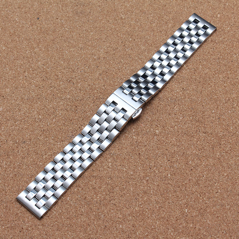 Polished and unpolished mixed colot watchband straps bracelet with butterfly buckle silver black 18 20 22 24mm mens accessories rakesh kumar tiwari and rajendra prasad ojha conformation and stability of mixed dna triplex