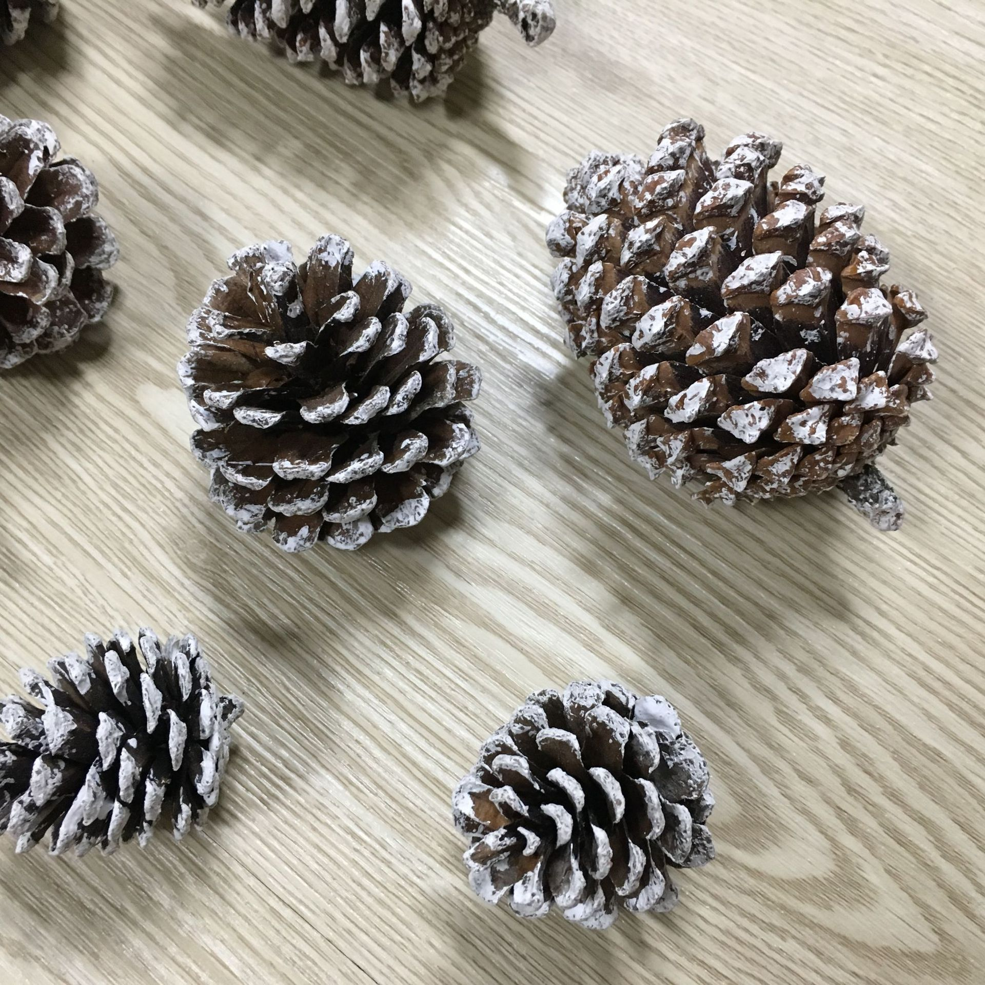 Christmas Wooden Tags Hanging Decoration/&Natural Real Pine Cones HOT