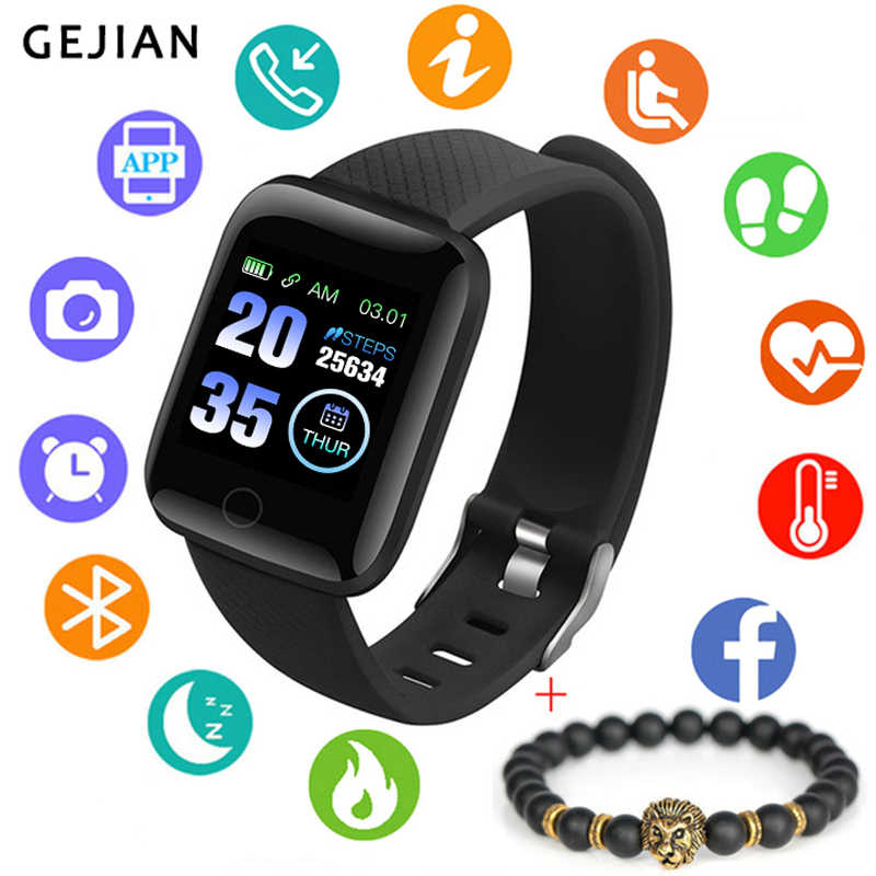 Men Smart Watch Waterproof Blood Pressure Measurement Fitness Tracker Women sport Watch Heart Rate Monitor Pedometer AndroidIOS