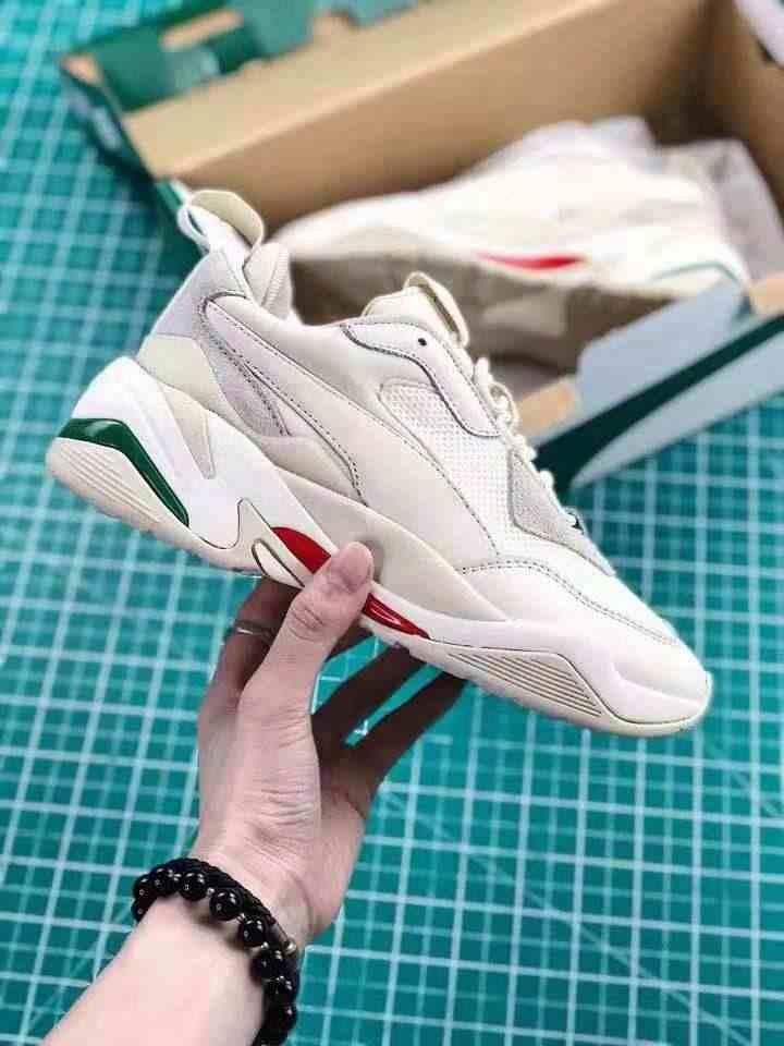 sports shoes 60e38 bfa08 ... PUMA Thunder Desert Sneakers Men Women Sports Shoes 367516-12 Badminton Shoes  Thunder Spectra Retro ...