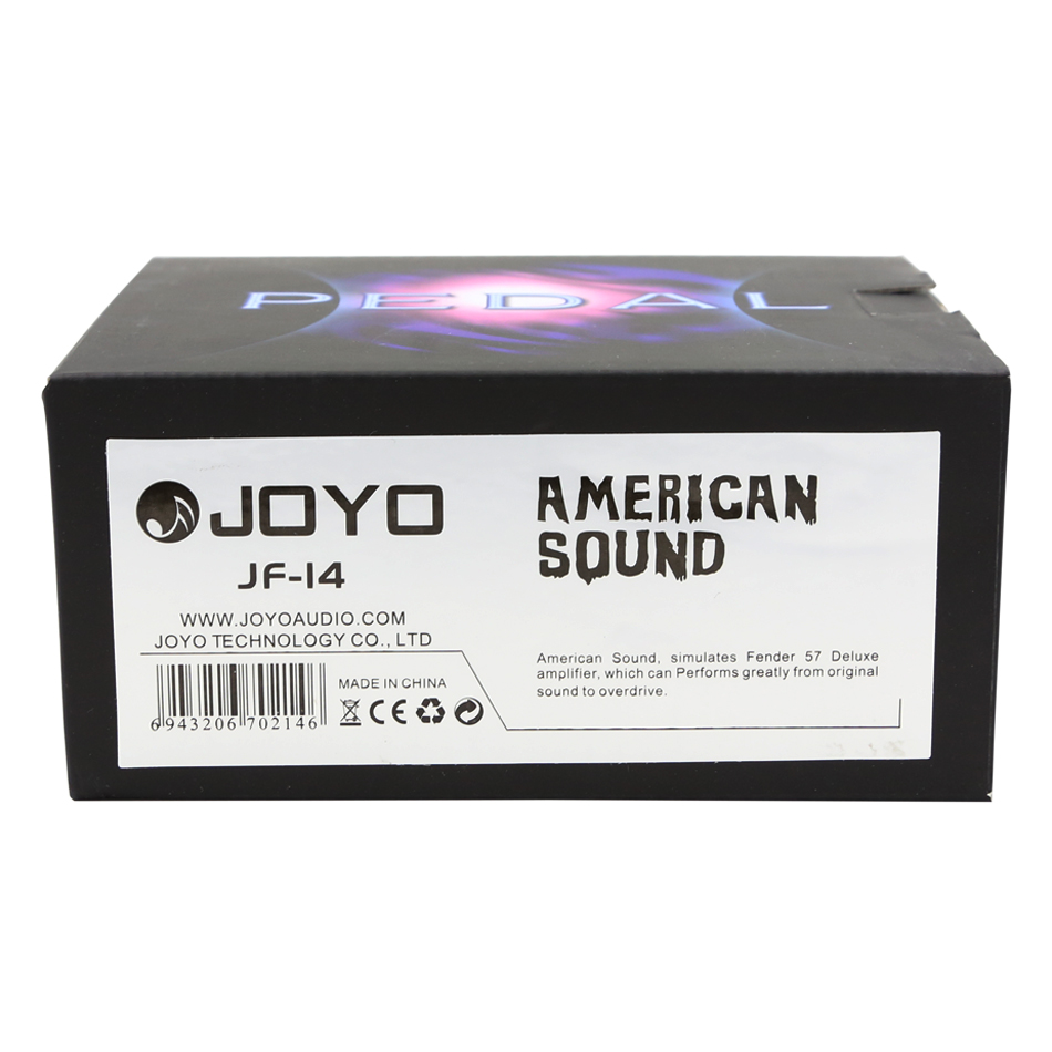 joyo jf 14 electric guitar effects pedal american sound speaker simulator effect pedal stompbox. Black Bedroom Furniture Sets. Home Design Ideas