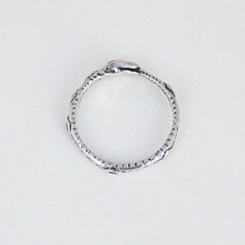 Image 3 - Ouroboros ring Charming ancient silver plated ring restoring ancient wayssilver ringouroboros ringring charms