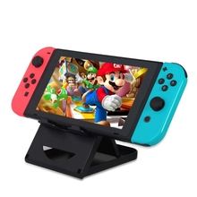 Adjustable Foldable ABS Compact Bracket Play Stand Holder for Nintendo Nintend Switch Console Controller Electronics Stocks