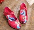 Crianças/crianças primavera/outono vestido de couro shoes moda chaussure elsa/zapatos/sapato/sapatilha/schoenen para as meninas/meisjes/fille