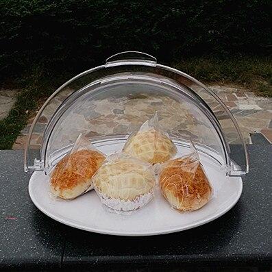 Mode Melamin Tablett mit Folding Abdeckung Dekorative Kunststoff Teller Geschirr für Kuchen, Butter, Nudeln und Sauages-in Geschirr & Platten aus Heim und Garten bei  Gruppe 1