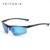 Azul Revestimento de alumínio E Magnésio óculos de Sol dos homens Polarizados Esportes Espelho de Condução Óculos de Sol Acessórios Óculos Para Homens 6587