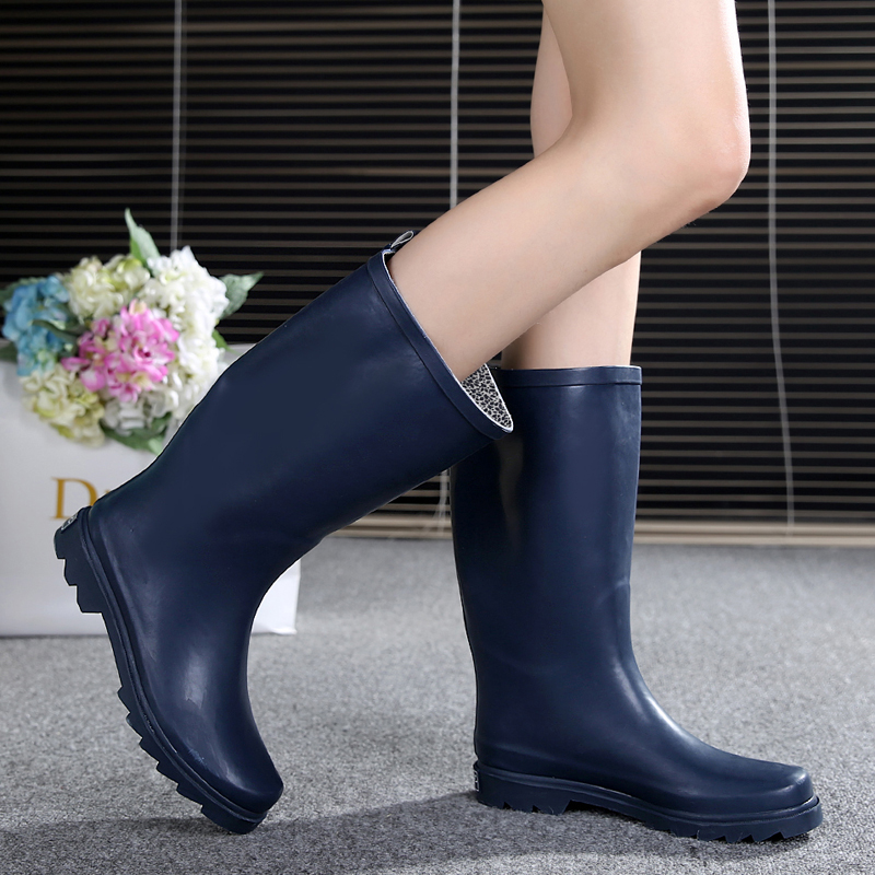 Popular Wellies Rain Boots Women-Buy Cheap Wellies Rain Boots ...